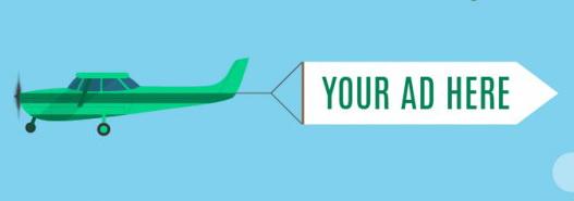 реклама группы вк на самолете